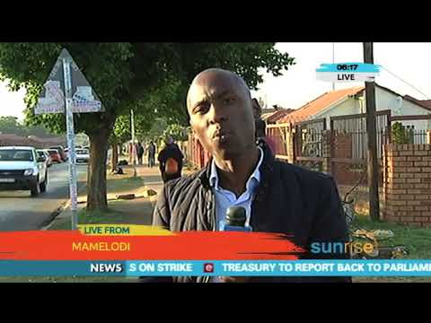 The National Taxi Alliance strike in Tswane
