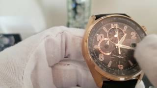 Citizen Eco Drive Chronograph Watch Review - CA0363-09H