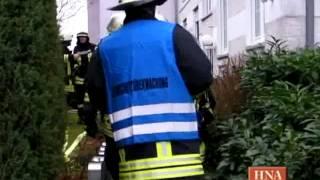 Niedenstein: Feuer im Dachgeschoss eines Mehrfamilienhauses