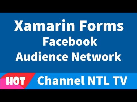 Xamarin Forms Facebook Audience Network