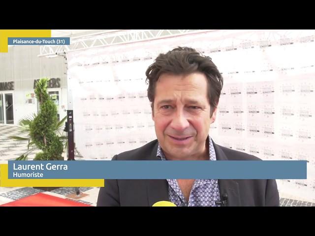 Laurent Gerra au Festival International du Film de Fiction Historique