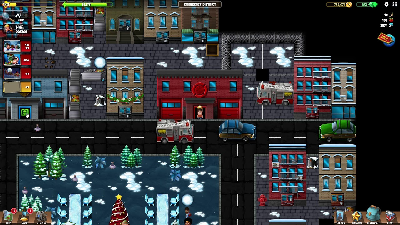 Christmas 2020 Emergency District Diggy Emergency District | #4 Christmas 2018 (2019) (PC) | Diggy's