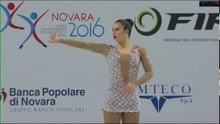 Azul Romagnoli - LP - Mundial - Italia 2016 - Patinaje Artístico, Pattinaggio, Artistic Skating