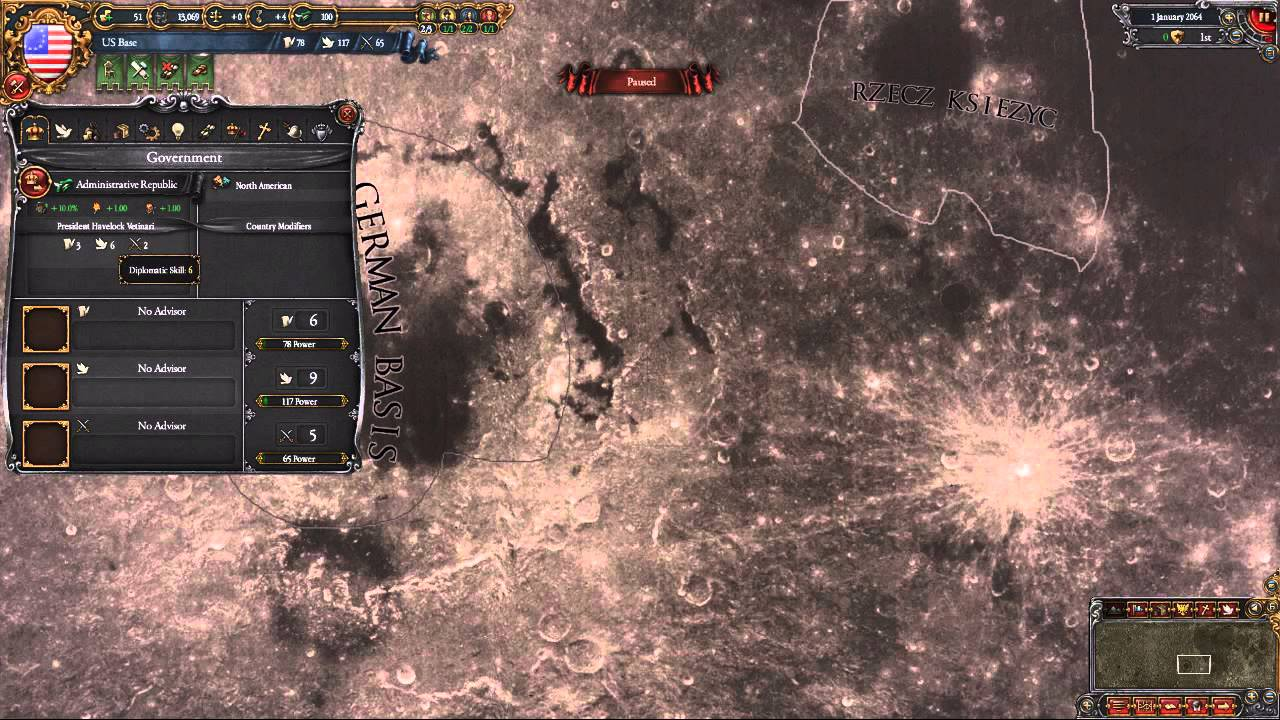Moon Universalis A EU4 mod look at