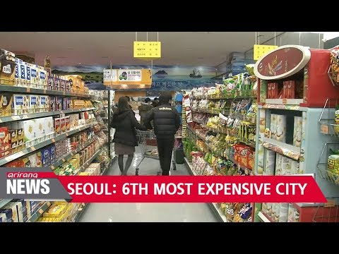 Seoul is world's 6th most expensive city to live in: The Economist