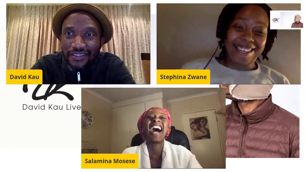 Comedian David Kau with Stephina Zwane| Salamina & Howza Mosese| Filmmaking