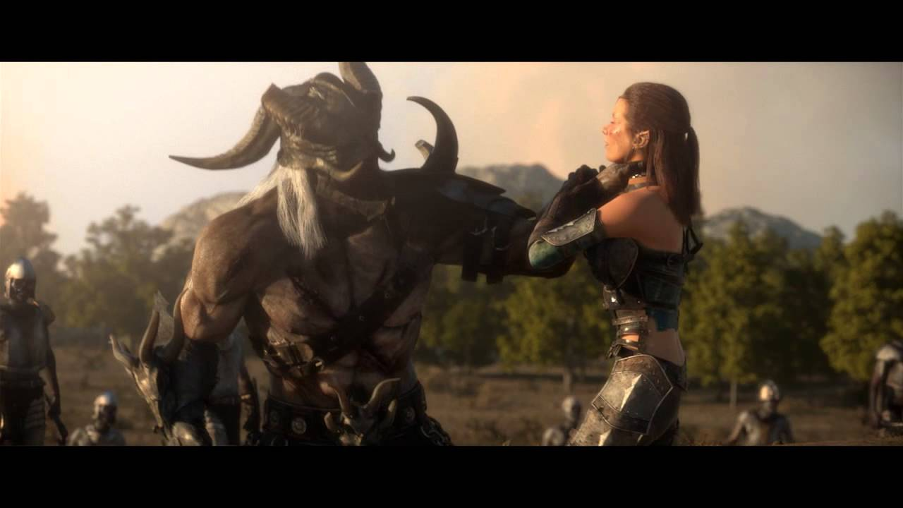 Видео Вступительный ролик — Осада города Невервинтер