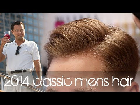 The Wolf of Wall Street Hairstyle | New Classic Men's Hair ... Leonardo Dicaprio Wolf Of Wall Street Hair
