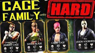 MKX Mobile. HARD Unstoppable Jason Challenge. Undead Hunter Johnny Cage vs. Jason BOSS = SUCCESS!