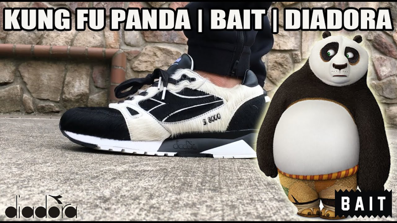 reputable site d024f d34a6 Kung Fu Panda x Diadora x  BaitMeCom Review + On Feet