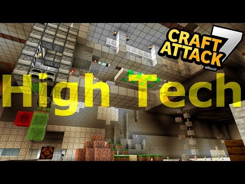 SUPER COOLE REDSTONE TECHNIK ⚒⚔ Craft Attack VII Ep. 50