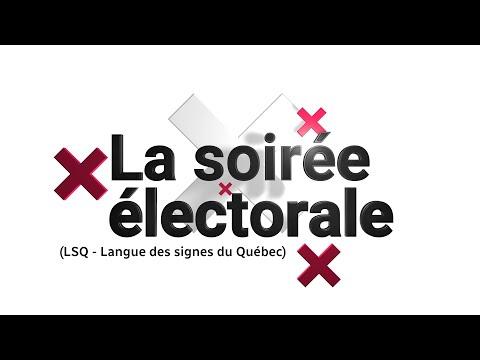 Soirée électorale 2021 au Canada (LSQ)