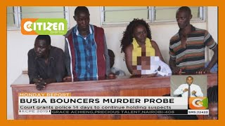4 suspects arrested over the murder of 7 bouncers in Busia