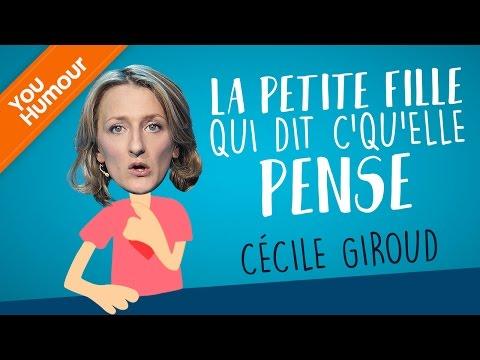 CECILE GIROUD - La petite fille qui dit c'qu'elle veut