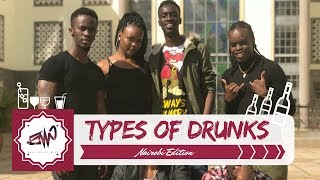 TYPES OF DRUNK FRIENDS... {EAST MEETS WEST}