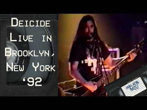 Deicide Live in Brooklyn, New York March 10 1992 FULL CONCERT