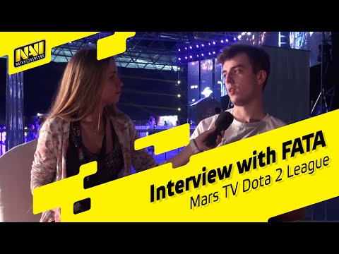 Interview with FATA @ Mars TV Dota 2 League (RUS SUBS AVAILABLE!)