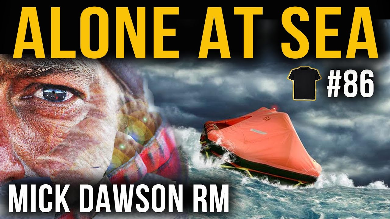 CAPSIZED On The PACIFIC! | Mick Dawson | Royal Marines | Chris Thrall's Podcast #86