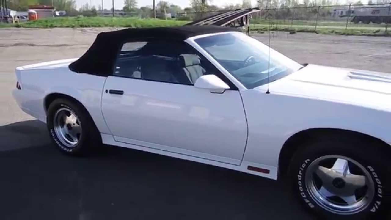 1984 Chevrolet Camaro Z 28 Convertible For Sale Online