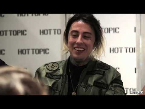 Falling In Reverse - In store Appearance Hollywood and Highland