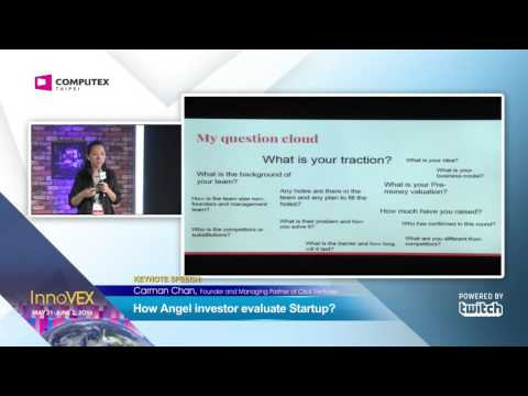 2016 InnoVEX Pi Stage-Keynote Speech--How Angel investor evaluate Startup?