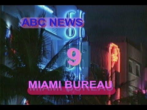 Miami Florida Vintage ABC News Miami Bureau Countdown 2000