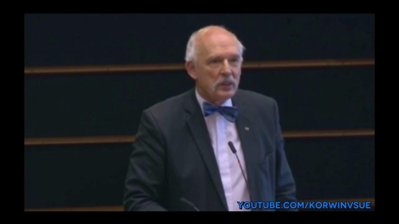 Każdy atak UE na rządy PiSu, umacniają rządy PiSu – Janusz Korwin-Mikke