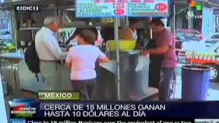 Mexican workers complain that minimum wage is too low