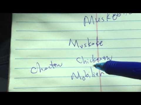 Choctaw-Mvskoke Language Family?