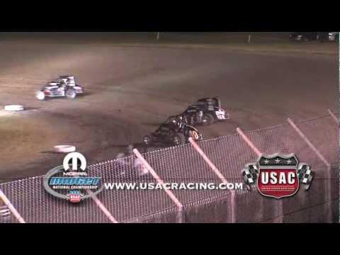 June 13, 2012 - Indiana Midgetweek Round 1 - Gas City I-69 Speedway (IN)