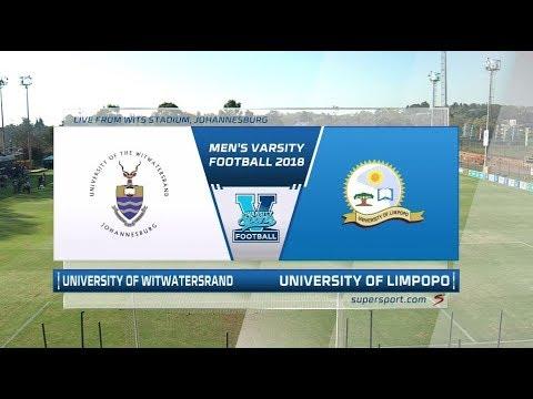 Men's Varsity Football 2018 | WITS vs UL
