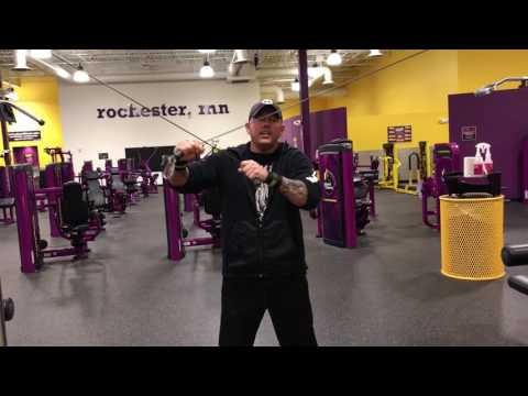 Tricep Exercise Routine Planet Fitness - How to do cable tricep exercise
