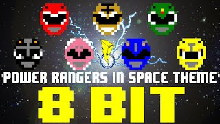 Power Rangers In Space Theme [8 Bit Tribute to Power Rangers] - 8 Bit Universe