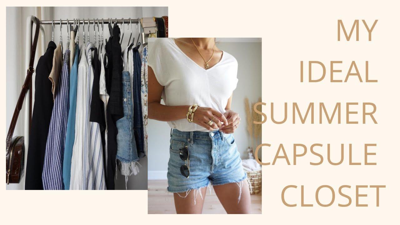 25 Item Summer Capsule Wardrobe | If I Had a 25 Item Summer Wardrobe ...