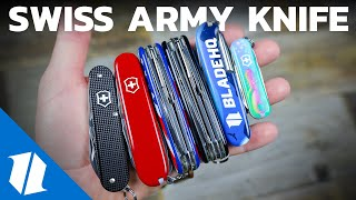Top 5 Victorinox Swiss Army Knives of 2019 | Knife Banter S2 (Ep 7)
