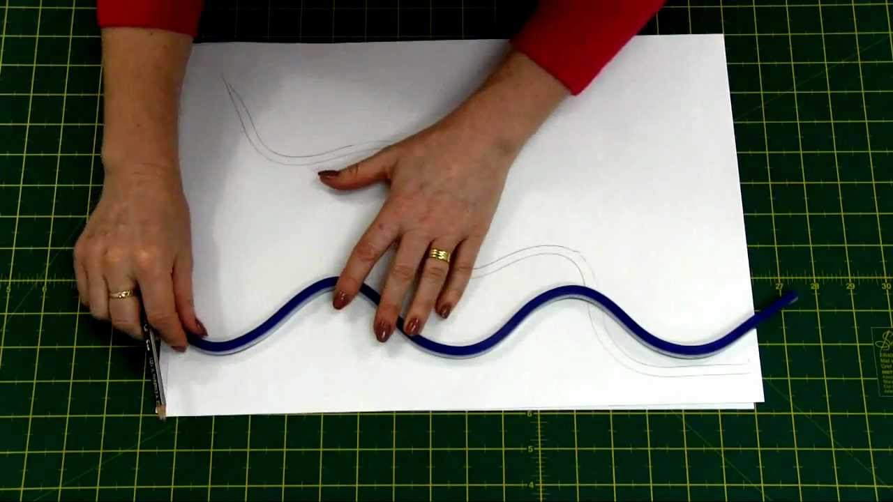 Sew Easy Quilters Flexible Curve Ruler Quilting Patchwork