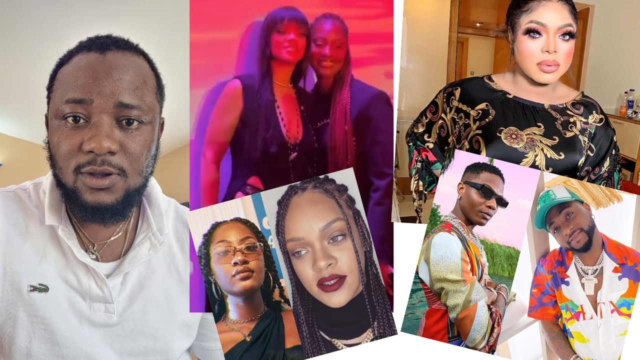 Download Bobrisky is A Disgrace | Rihanna Meet Tems | Wizkid guy Mock Davido