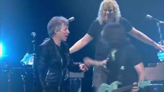 Bon Jovi - Keep The Faith solo by Phil X - Cleveland 2017-03-19 - PRO SHOT