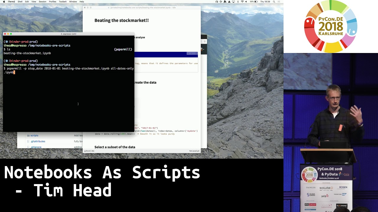 Image from Notebooks As Scripts