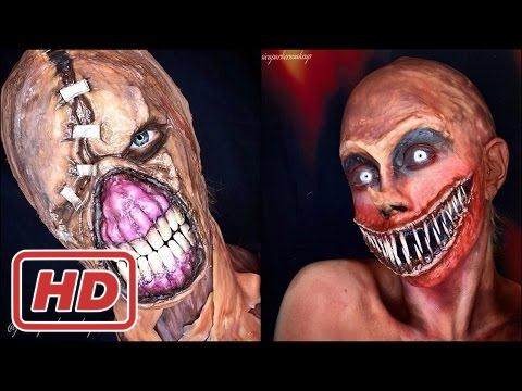 30 Scariest & Creepiest Halloween Makeup Ideas Ever by Jessica Parker