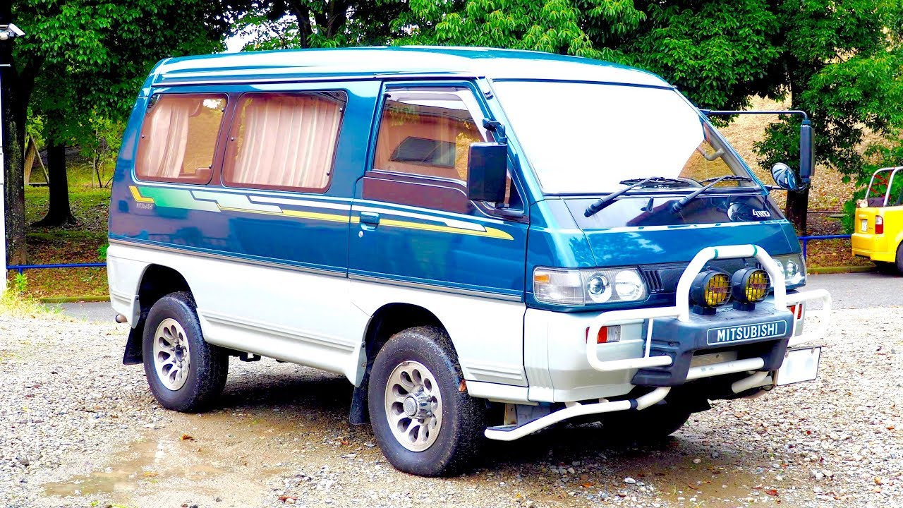 1993 Mitsubishi Delica Star Wagon Turbo Diesel 4x4 (Canada
