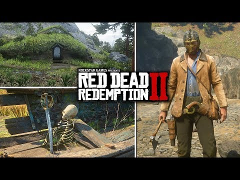 Red Dead Redemption 2 - Secrets & Easter Eggs - Bigfoot, Viking & Pirate Weapons, UFO Aliens & More!