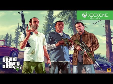 Grand Theft Auto V - Xbox One Gameplay [4K]