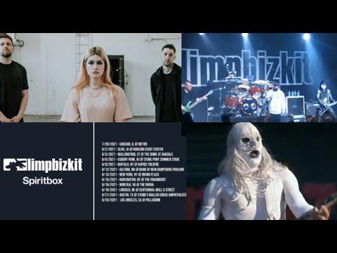 Limp Bizkit and Spiritbox announce summer 2021 tour!