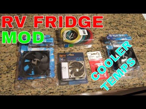 Cool RV 3 Way Refrigerator Mods And Maintenance