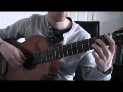 Dance of the Knights The Apprentice Theme Fingerpicking Classical Guitar Arrangement