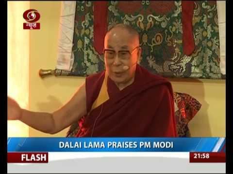 Dalai Lama praises PM Modi