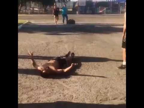 Fresno fight Bulldogs knockout. VMLG