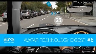 #6 Avatar Technology Digest / Robot Chef, Augmented Vision, Google