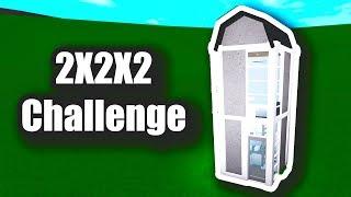 2X2X2 Herausforderung! • Roblox - Bloxburg (10K)